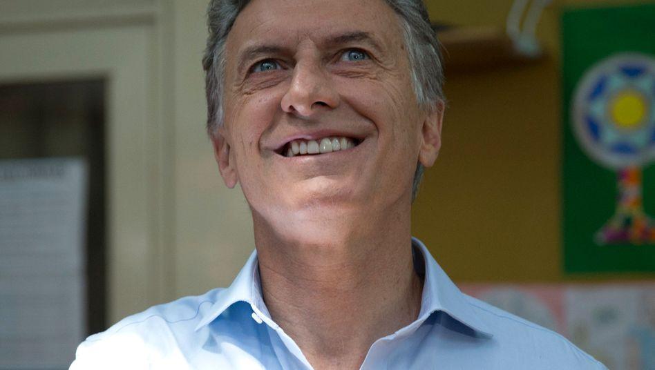 Mauricio Macri: Wahlen in Argentinien gewonnen