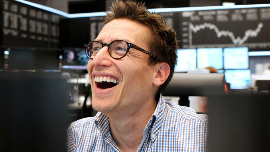 Börse in Frankfurt: Binnen zwei Handelstagen hat der Dax um rund 500 Punkte zugelegt