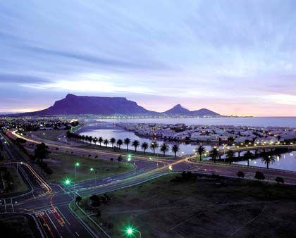Allgegenwärtig: Der Tafelberg in Kapstadt