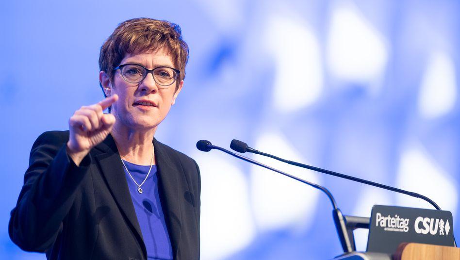 Annegret Kramp-Karrenbauer: Die CDU-Chefin hat laut Entscheider-Panel der LAE gute Chancen auf die Merkel-Nachfolge