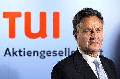 Unter Druck:Tui-Chef Frenzel