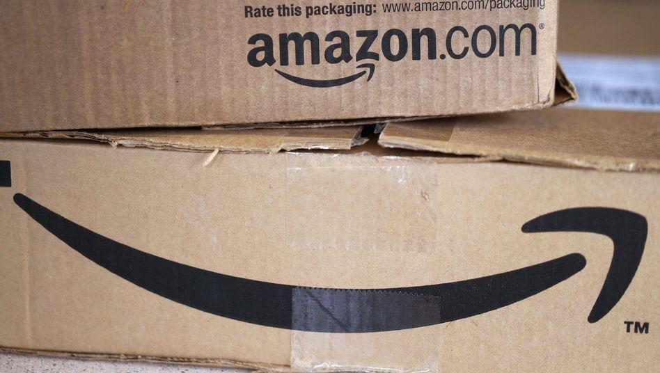 Amazon-Pakete: Das Weihnachtsgeschäft lief schwach, aber profitabel