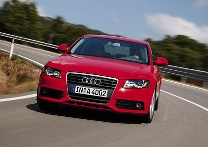 Deutliche Delle: Der schwächelnde deutsche Markt und ein Modellwechsel beim Verkaufsschlager A4 haben Audi im November stagnierende Verkaufszahlen beschert