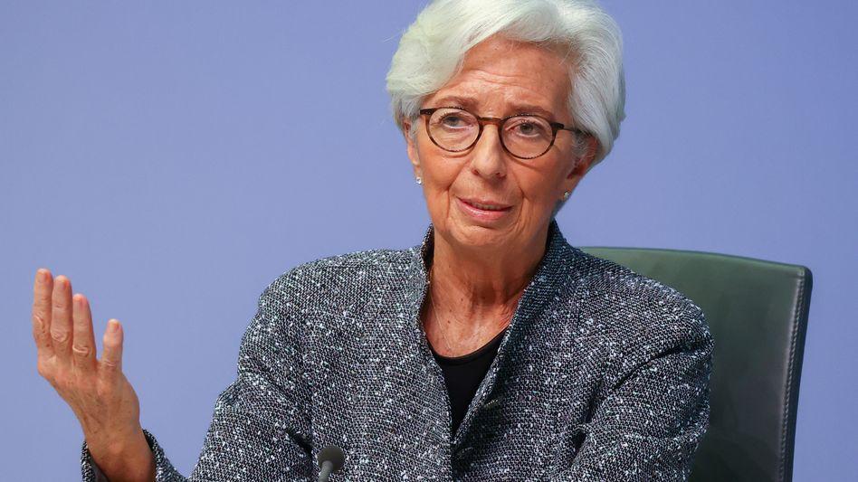Getriebene: EZB-Präsidentin Christine Lagarde hat die Pläne um den digitalen Euro beschleunigt, um die Währung zu verteidigen.