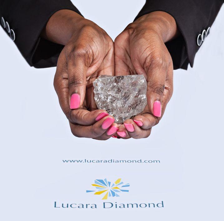 Riesenstein: Dieser 1111-Karat-Diamant wurde in einer Mine in Botswana gefunden