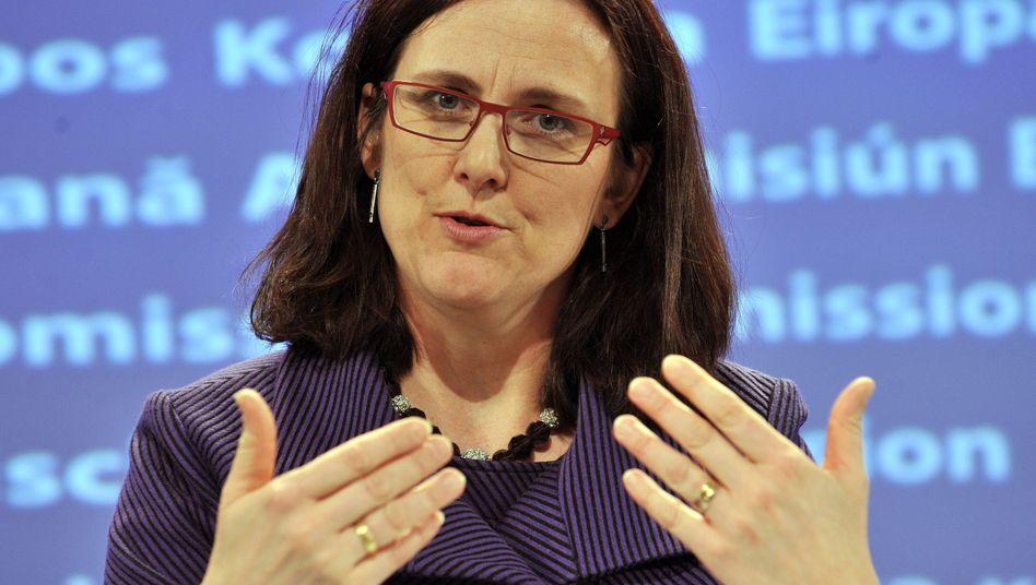 Cecilia Malmström: Favoritin für die OECD Spitze