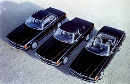Men in Black: Der 350 SL der 80er Jahre in allen Aggregatzuständen