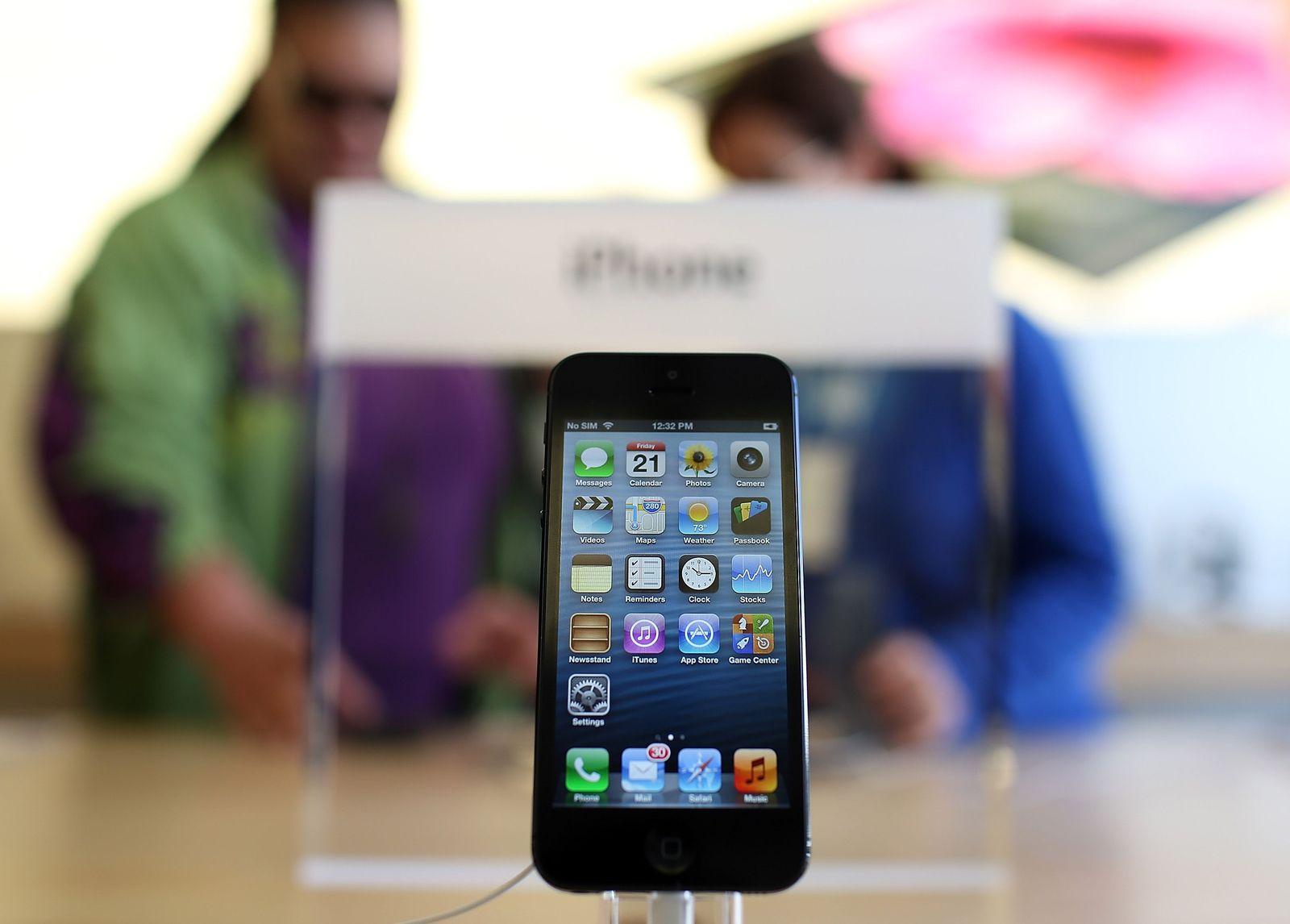 iPhone 5 Apple Store