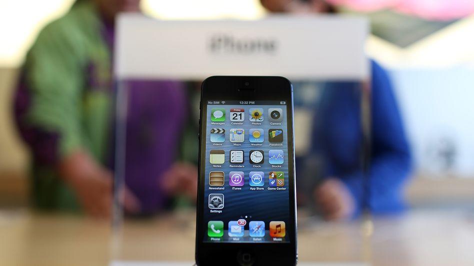 iPhone 5: Das neue Apple-Gerät ist dünner und schlanker als die Vorgängermodelle