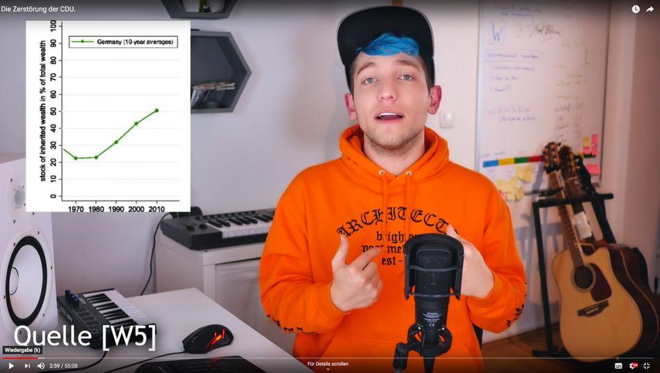 Youtuber Rezo brachte die CDU-Seele zum Kochen