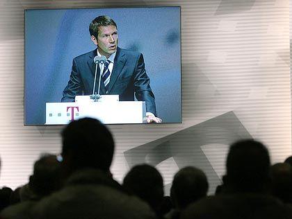 Partnersuche: Telekom-Chef Obermann für schnelle Lösung bei T-Systems