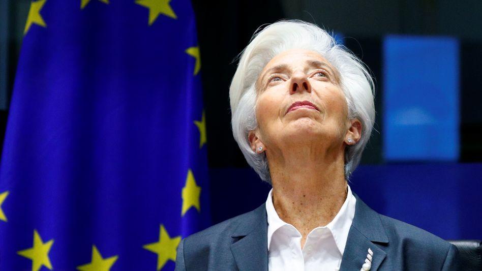 Neue Herrin über die Zinsen: EZB-Präsidentin Christine Lagarde leitet am Donnerstag die erste Ratssitzung 2020.