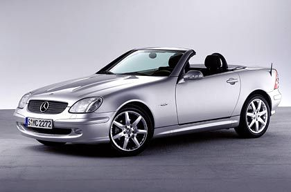 Mercedes CLK: Klassische Blechklappe