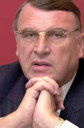 DaimlerChrysler Manager Klaus Mangold: Galt im Aufsichtsrat als nicht durchsetzbar