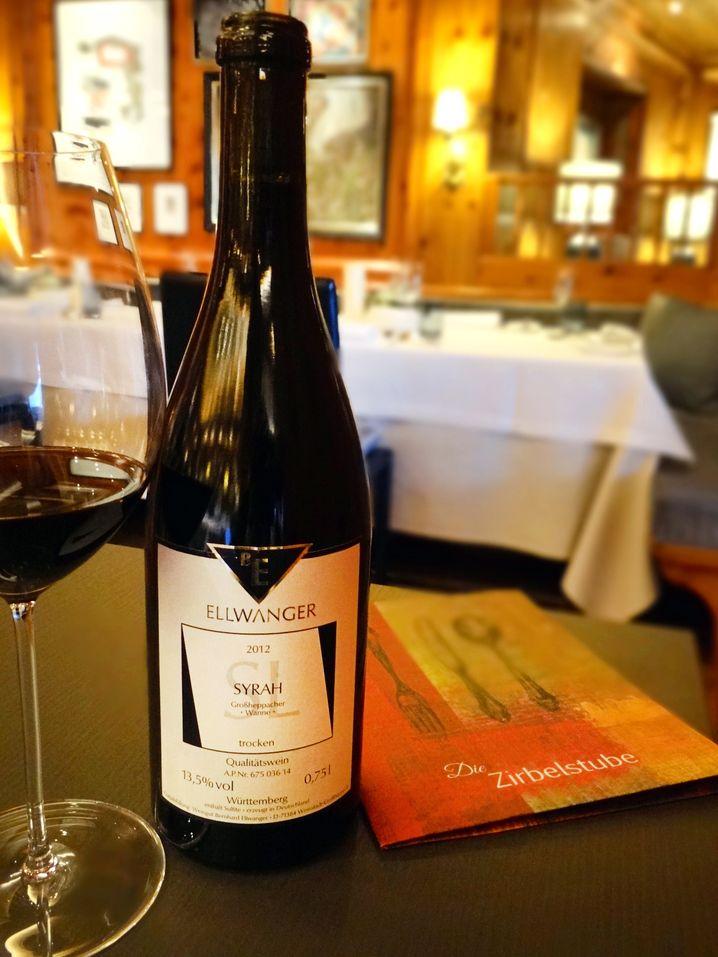 Ein Rotwein für den März: Großheppacher Wanne Syrah, trocken