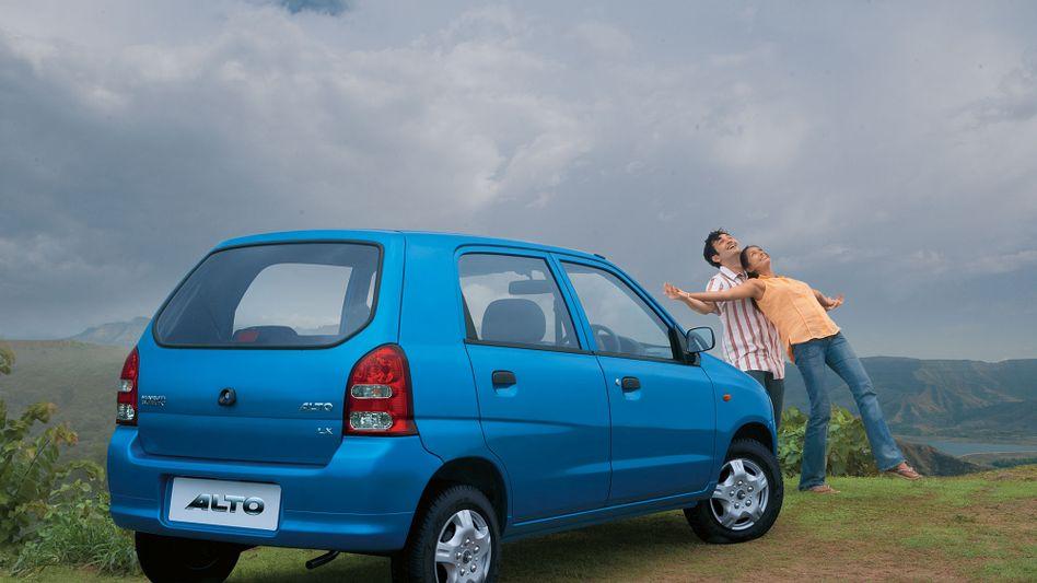 Freude über den neuen Suzuki Maruti? In Indien hat der Autobauer derzeit Probleme