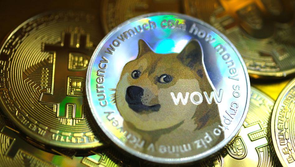 Aus Spaß wird Ernst: Die Kryptowährung war eigentlich als Parodie auf Bitcoin gedacht