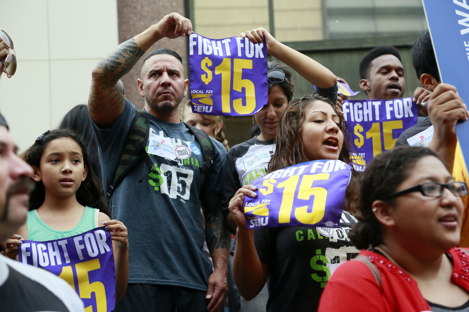 Minimum Wage California Mindestlohn Kalifornien
