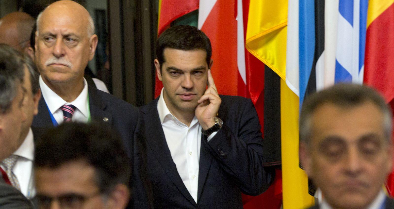 Europe Greece Bailout Tsipras