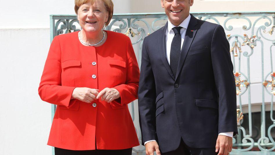 Merkel, Macron: Milliardenschwere Investitionen und ein Budget für die Euro-Zone