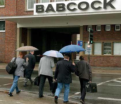 Vom Regen in die Traufe: Babcock-Borsig-Mitarbeiter