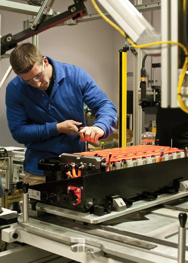 Batteriefertigung: Rasend schnelle Entwicklung