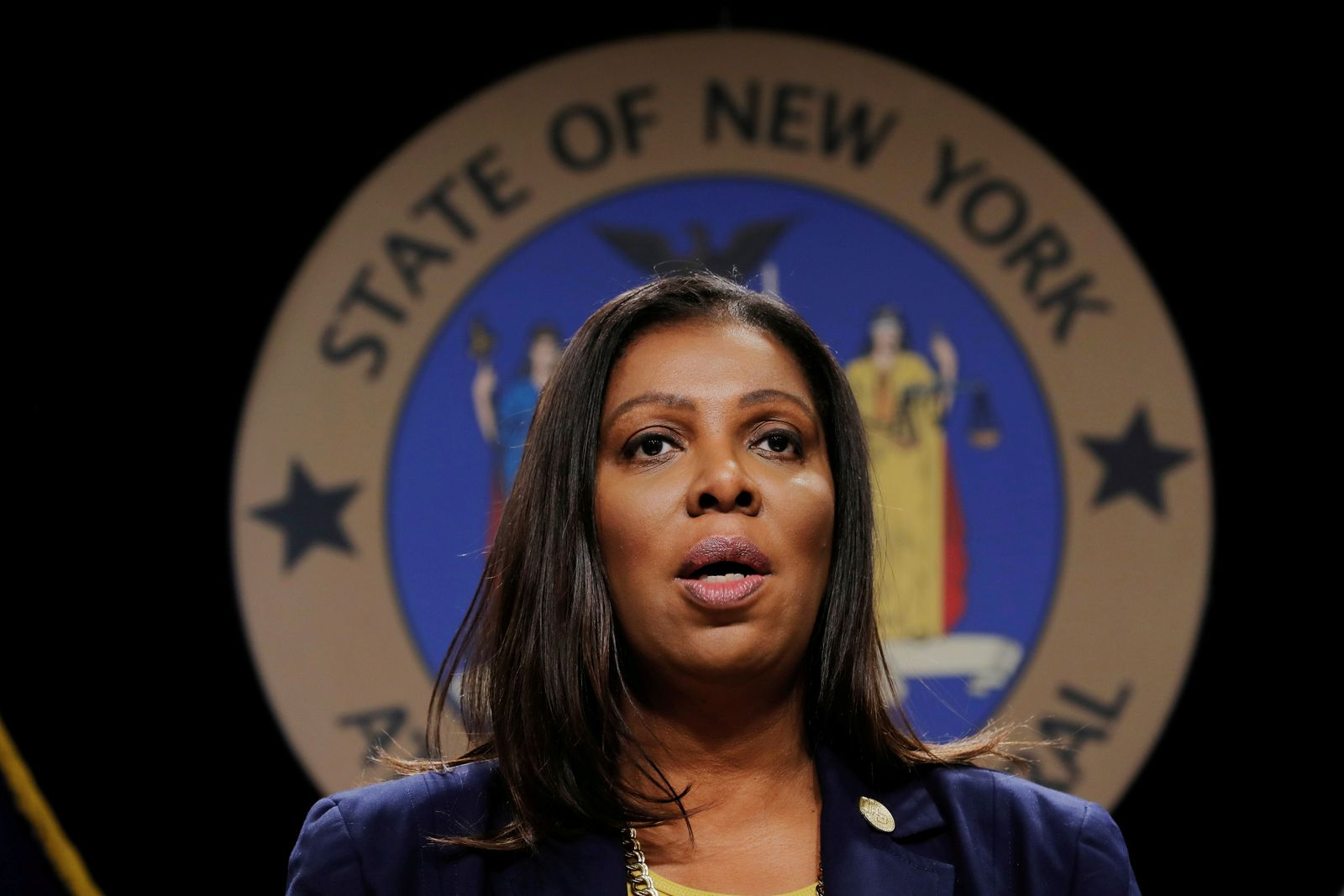 FILE PHOTO: New York State Attorney General Letitia James Inc in New York City