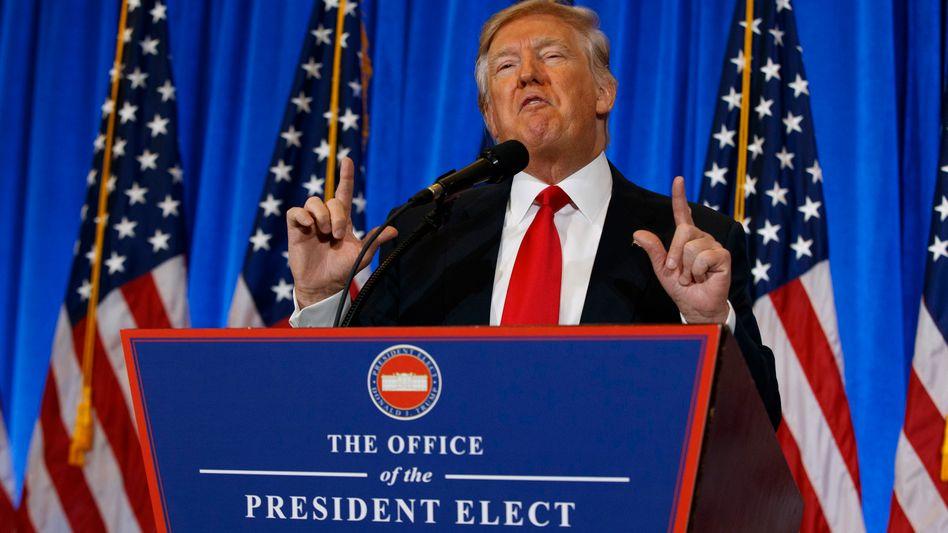 """Donald Trump: """"Sie werden für jedes Auto, das in die USA kommt, 35 Prozent Steuern zahlen"""""""