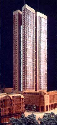 Baubeginn für 2008 angedacht: Das Zürichhaus II, Architekt: Christoph Mäckler