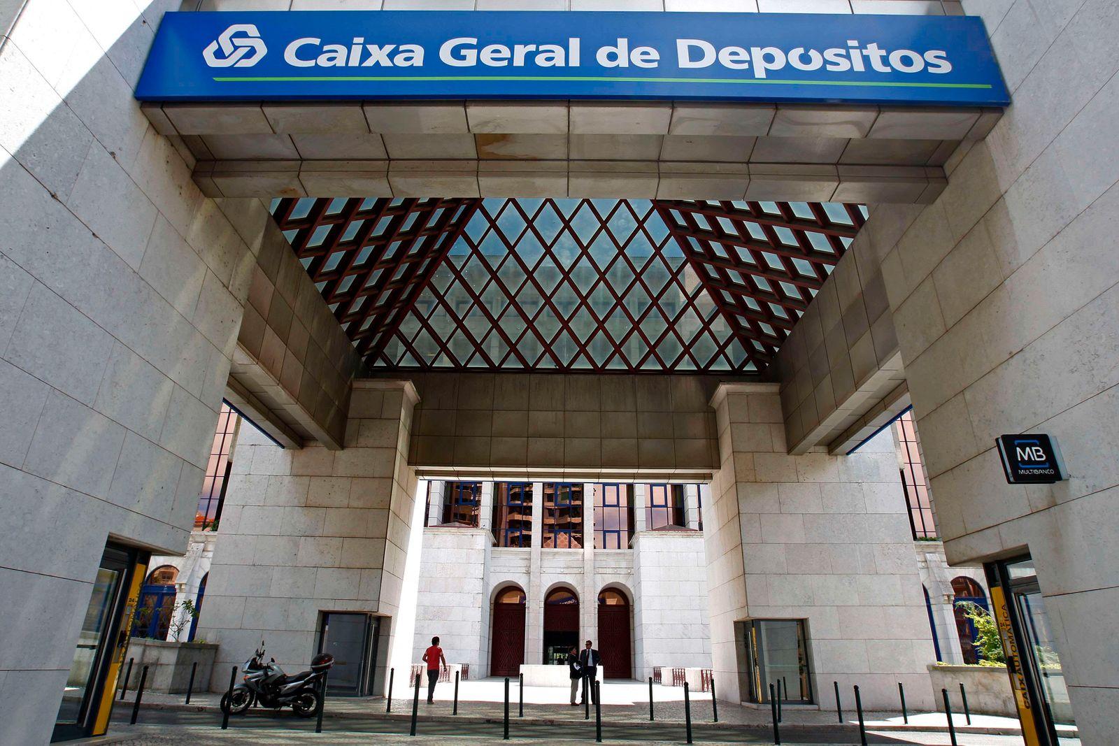 Portugal, Lissabon / Caixa Geral de Depósitos, Sparkasse