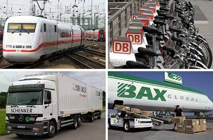 Profitable Logistiksparte: Der Transportbereich erbringt rund die Hälfte des gesamten Bahn-Umsatzes