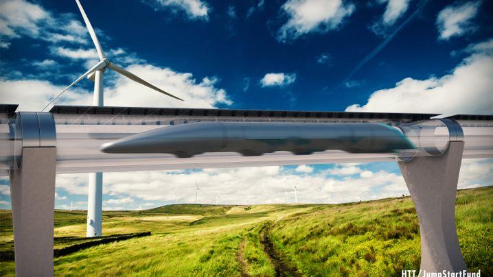 Lufthansa prüft deutsche Strecke: Rakete in der Röhre - so könnte der Hyperloop das Reisen transformieren