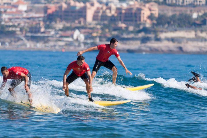 Surfen auf Teneriffa - auf das Surfcamp Las Americas