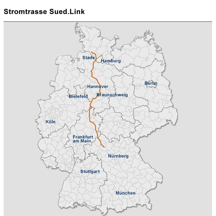 Geplanter Trassenverlauf (zum Großbild klicken)