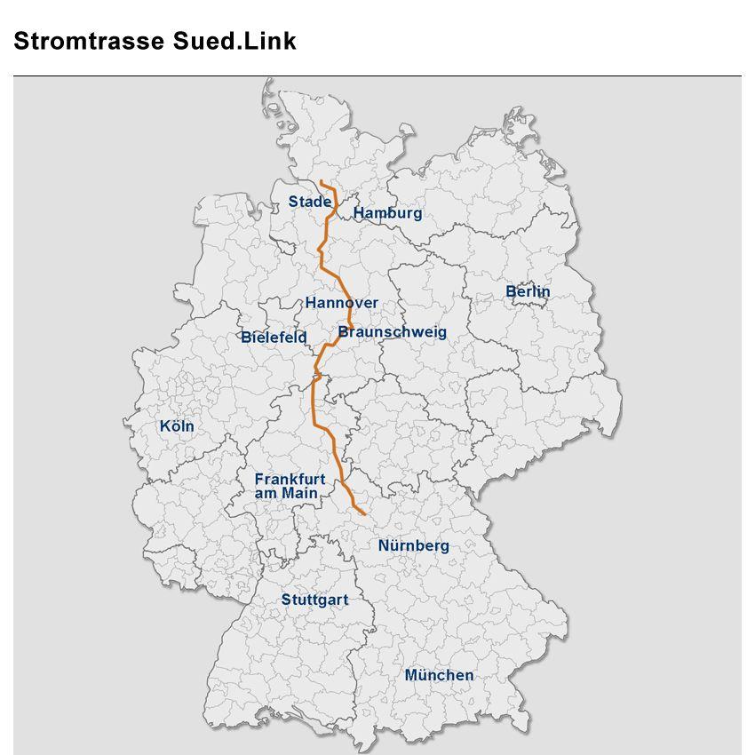 Stromtrasse Sued.Link