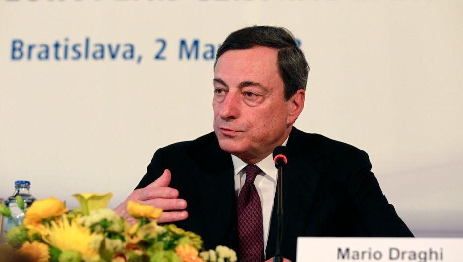"""EZB-Chef Mario Draghi: """"Die Antwort auf die Krise war nicht weniger Europa, sondern mehr Europa"""""""