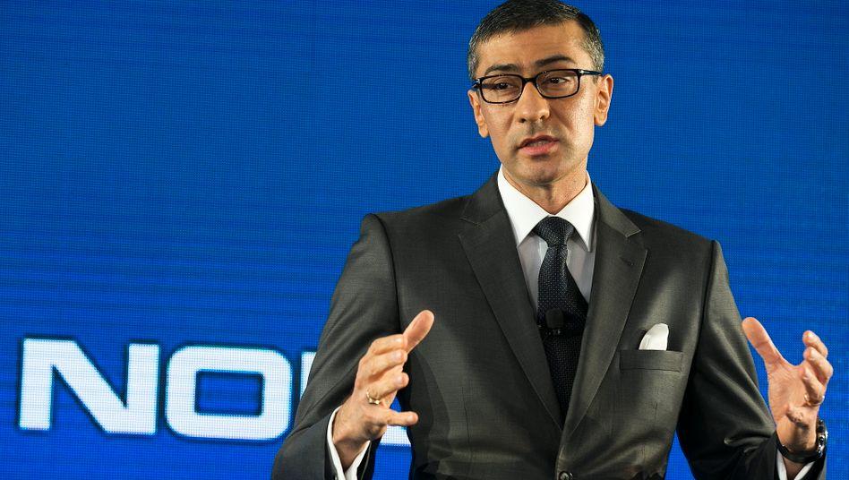 Rajeev Suri: Der neue Nokia-Chef stellt den Konzern derzeit neu auf