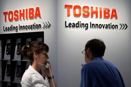 Sorgen: Der starke Yen verteuert die Exporte von Toshiba
