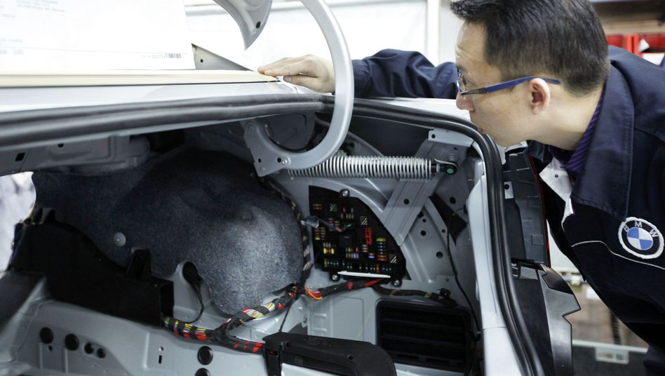 BMW-Produktion mit dem Joint-Venture-Partner Brilliance in Shenyang (Bild Archiv)