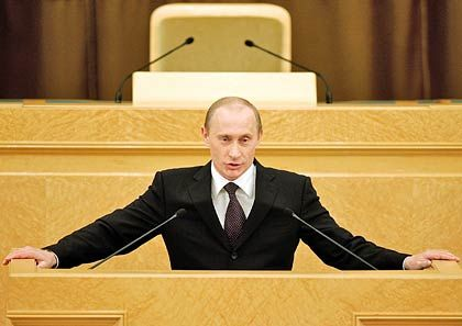 Zur Kasse, Genossen: Russlands Präsident Wladimier Putin