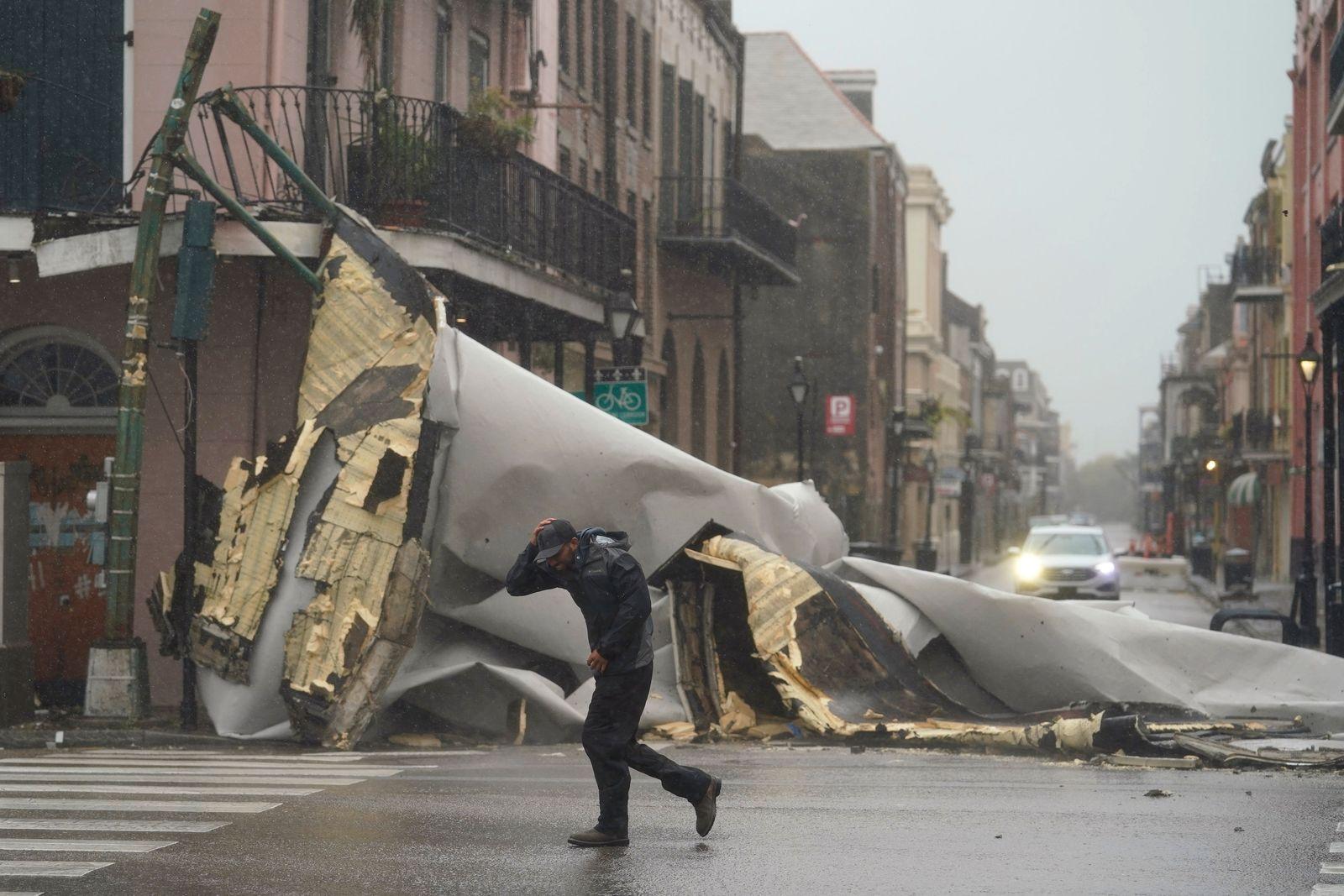 Hurrikan «Ida» in den USA