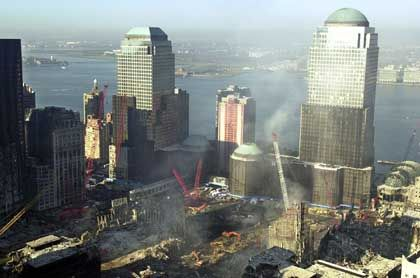 Ruine des World Trade Center: 16 Millionen Dollar Gewinn