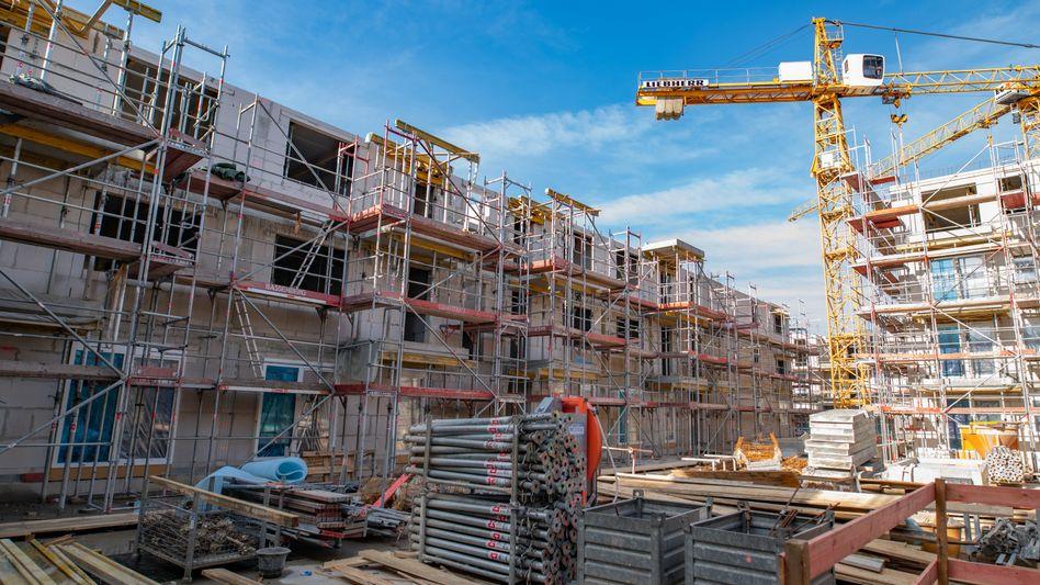 Wohnungsbau in Hamburg: In der Hansestadt wurden im vergangenen Jahr 58 neue Wohnungen je 10.000 Einwohner fertiggestellt. In keiner Metropole in Deutschland waren es mehr.
