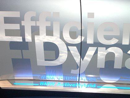 Effizient, dynamisch? Die Spritspartechniken bei BMW vermeiden karge Öko-Vokabeln