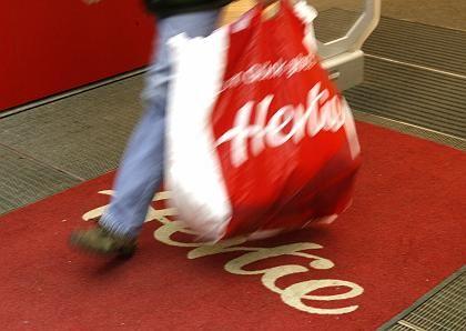Läuft das Geschäft weiter? Hertie kämpft ums Überleben