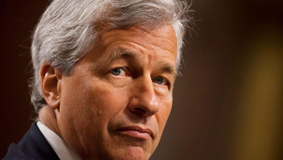 Machte 7,25 Millionen binnen acht Monaten: JP-Morgan-Chef Dimon