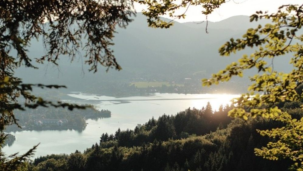 Bayern im Bilderbuchformat: Blick auf den Tegernsee