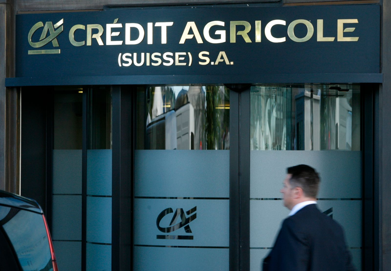 Banken/ Credit Agricole/ Schweiz
