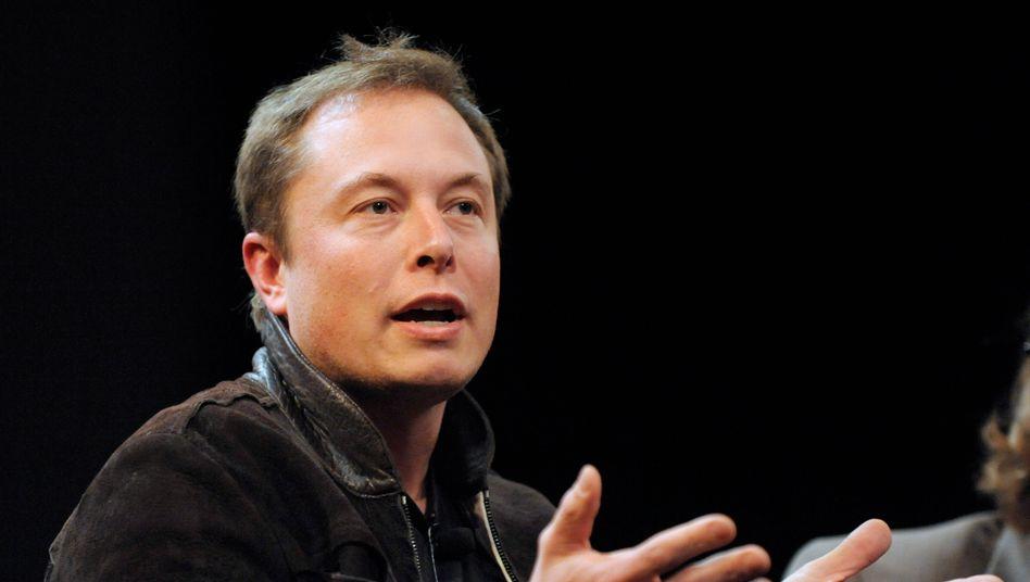 Liebling der Anleger: Tesla-Chef Elon Musk.