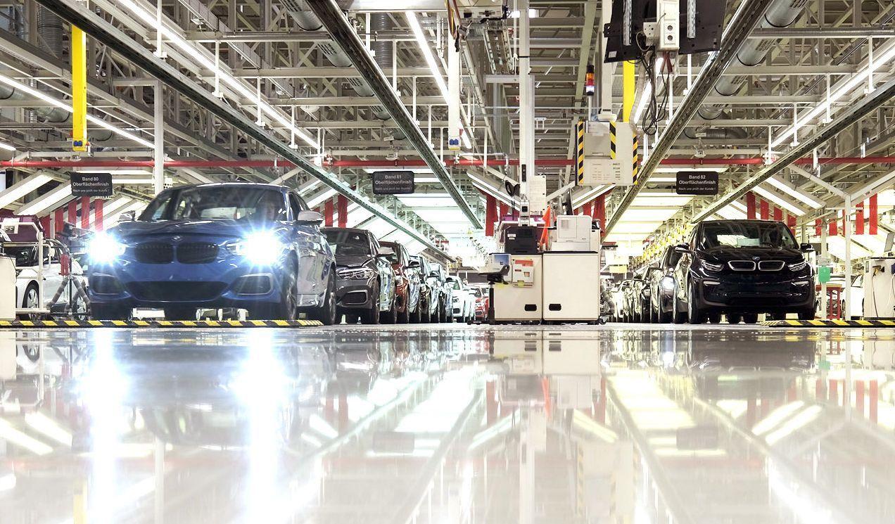 BMW Produktion Leipzig / Deutsche Autoindustrie / Brexit